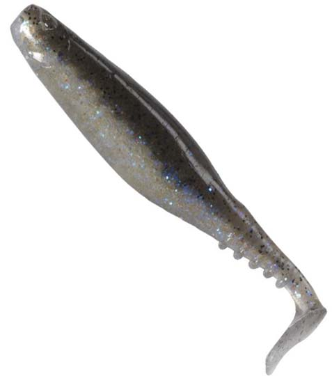Berkley Flex Stoop Shad Silver Magic