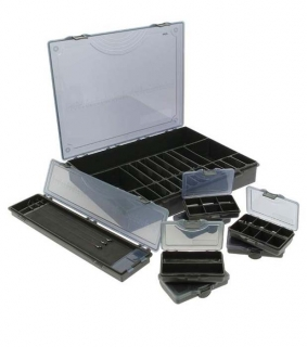 NGT organizér Deluxe Storage Box 7+1 Black